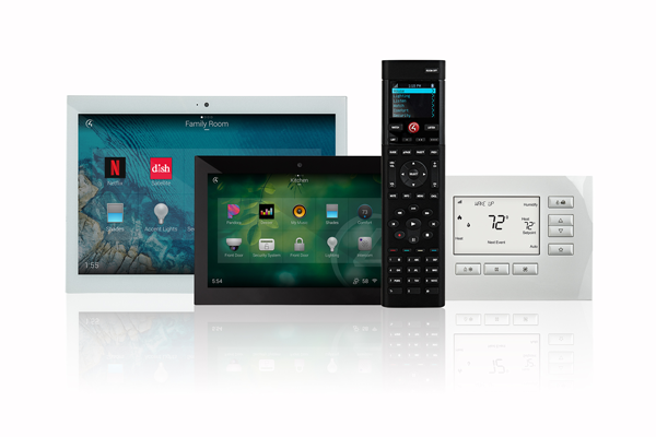 control4 home automation product range